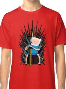 Finn on Throne Classic T-Shirt