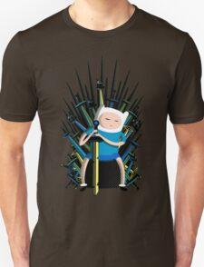 Finn on Throne Unisex T-Shirt