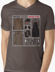 Dressed to Kill Mens V-Neck T-Shirt