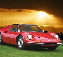 1973 Ferrari Dino 246 GTS by DaveKoontz