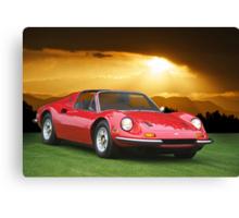 1973 Ferrari Dino 246 GTS Canvas Print