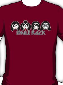 Smile Rock - Smiley Icons T-Shirt