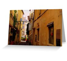 The Streets of Arles Greeting Card