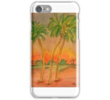 Palms in St. Augustine iPhone Case/Skin