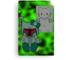 SOLO and FETT KITTY 2.0 Canvas Print