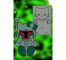 SOLO and FETT KITTY 2.0 Photographic Print
