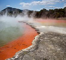 Champagne Pool - Natures Thermal Wonderland by Kim Andelkovic