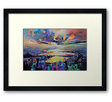 Loch Garry Transition Framed Print