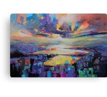 Loch Garry Transition Canvas Print