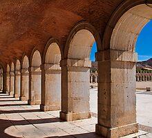 Spain. Aranjuez. Royal Palace. Gallery. by vadim19