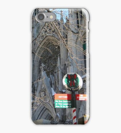 St. Patrick's Cathedral, N.Y.C. iPhone Case/Skin