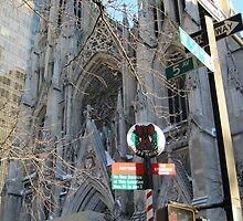 St. Patrick's Cathedral, N.Y.C. by Patricia127