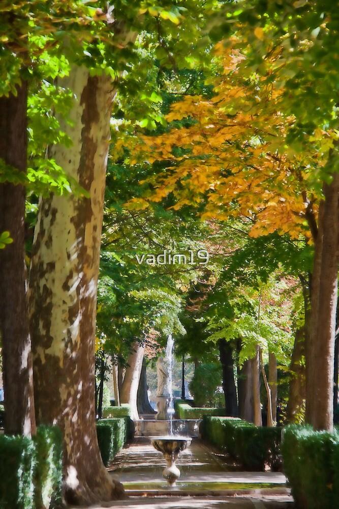 Spain. Aranjuez. Royal Garden. by vadim19