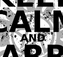 Keep Calm - SPN Style Sticker
