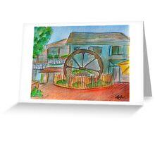 Wheel Building Greeting Card