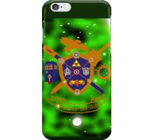Geek Crest 2.0 iPhone Case/Skin