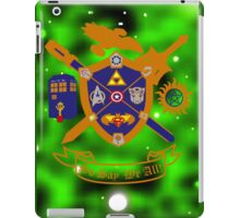 Geek Crest 2.0 iPad Case/Skin