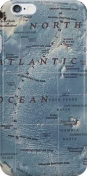 Cartography / atlantic by Atlas Designs