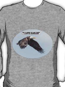 American Bald Eagle 2015-25 Isolated T-Shirt