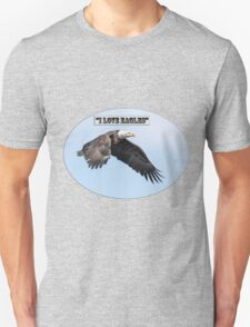 American Bald Eagle 2015-25 Isolated Unisex T-Shirt