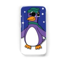 Winter Penguin Samsung Galaxy Case/Skin