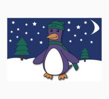 Winter Penguin Kids Tee