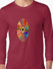 retro vinyl record 1 Long Sleeve T-Shirt