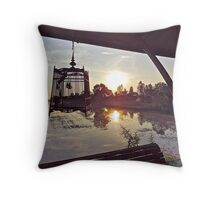TRAPPED IN SUNLIGHT Throw Pillow