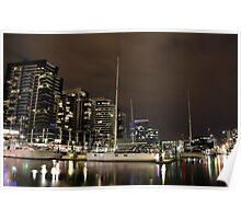 New Quay, Docklands  Poster