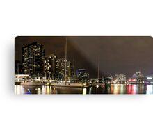 New Quay, Docklands Panorama Metal Print