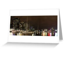 New Quay, Docklands Panorama Greeting Card