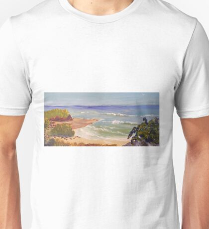 Wombarra Beach a lovely place to visit Unisex T-Shirt