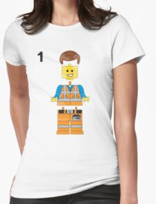 The Lego Movie Womens Fitted T-Shirt