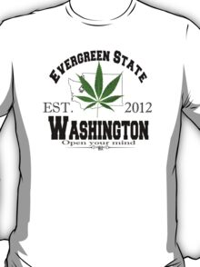 """Evergreen State"" T-Shirt"
