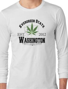 """Evergreen State"" Long Sleeve T-Shirt"