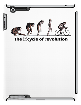 cycle of evolution / bicycle of revolution by PaulHamon