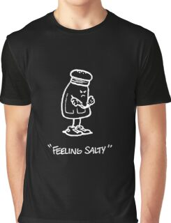 Feeling Salty (white lined) Graphic T-Shirt