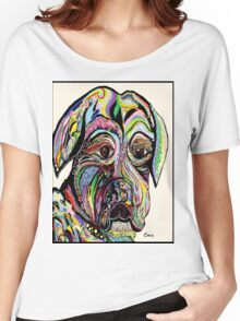 Colorful Boxer Women's Relaxed Fit T-Shirt