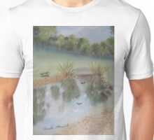 Duck Pond at Wollongong Uni Unisex T-Shirt