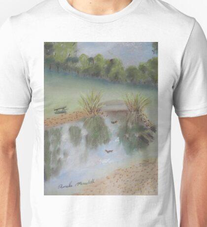 Duck Pond at Wollongong Uni Unisex T-Shirt