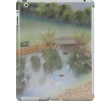 Duck Pond at Wollongong Uni iPad Case/Skin