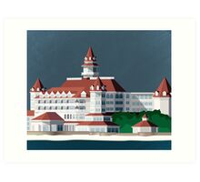 Grand Floridian Resort Art Print