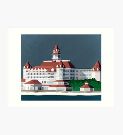 Grand Floridian Resort Art Print