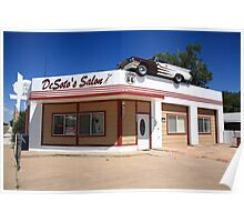Route 66 - DeSoto's Salon Poster