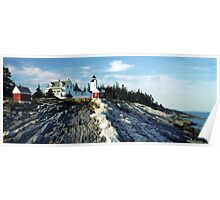 Pemaquid Point Lighthouse, Maine Poster