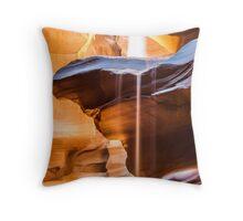 Upper Antelope Canyon, Navajo Nation, AZ Throw Pillow