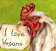 I Love Vegans! by Hiroko Sakai