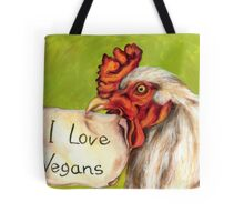 I Love Vegans! Tote Bag