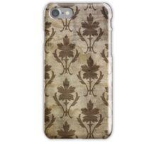 Vintage Brown Wallpaper iPhone Case/Skin