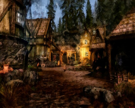 Quiet Little Village by Joe Misrasi